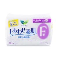 花王乐而雅 F系列柔软特多量日用快速吸收护翼卫生巾 25cm 18片 日本进口