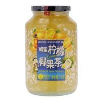 韩国进口 韩今蜂蜜柠檬椰果茶1kg