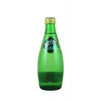 巴黎水(Perrier)天然含气矿泉水(青柠味)气泡水 330ml 法国进口