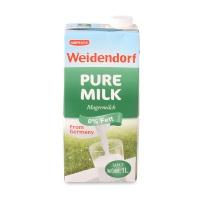 德亚Weidendorf 脱脂牛奶 1L 德国进口