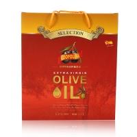 西班牙进口 库博 特级初榨橄榄油礼盒 1l*2