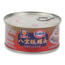 梅林 八宝饭罐头 350g